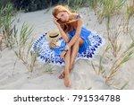 outdoor lifestyle portrait of... | Shutterstock . vector #791534788
