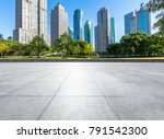 panoramic skyline and buildings ... | Shutterstock . vector #791542300