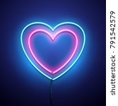 valentines day background.... | Shutterstock .eps vector #791542579