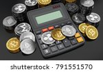 cryptocurrencies coins laying... | Shutterstock . vector #791551570