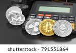 cryptocurrencies coins laying... | Shutterstock . vector #791551864