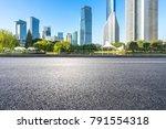 empty asphalt road front of... | Shutterstock . vector #791554318