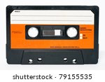 Cassette Tape Isolated On A...