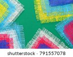 abstract multicolored... | Shutterstock . vector #791557078