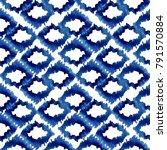 indigo blue watercolor...   Shutterstock . vector #791570884