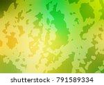 vector doodle blurred template. ... | Shutterstock .eps vector #791589334