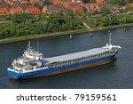 cargo vessel   Shutterstock . vector #79159561