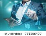 risk management strategy plan... | Shutterstock . vector #791606470