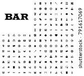 bar icon illustration isolated... | Shutterstock .eps vector #791617069