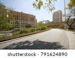cha viaduct  anhangabau valley... | Shutterstock . vector #791624890