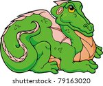 froggy dragon.  you would be... | Shutterstock .eps vector #79163020