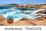 travel to france   stone shore...   Shutterstock . vector #791631376