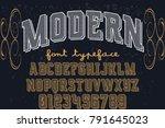 font.alphabet.script.typeface... | Shutterstock .eps vector #791645023