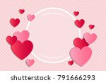 template of banner for... | Shutterstock .eps vector #791666293