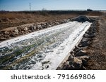 Large Drainage Sink With Water...