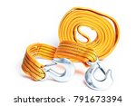 rope tow rope for cars on a... | Shutterstock . vector #791673394