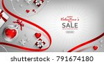 red promo web banner for... | Shutterstock .eps vector #791674180