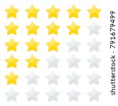 5 stars rating. feedback and...   Shutterstock .eps vector #791679499