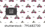 vector queen hashtag and luxury ... | Shutterstock .eps vector #791682730
