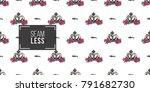 vector queen hashtag and luxury ... | Shutterstock .eps vector #791682730