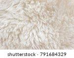 white soft wool texture...   Shutterstock . vector #791684329