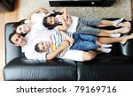 happy young family relax and...   Shutterstock . vector #79169716