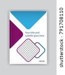 business book cover design...   Shutterstock .eps vector #791708110
