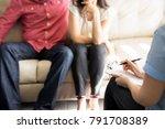 professional female... | Shutterstock . vector #791708389