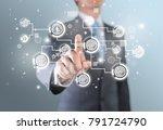 business man    Shutterstock . vector #791724790