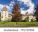 millstatt abbey in the fall.... | Shutterstock . vector #791729500