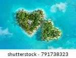 Tropical Islands In The Shape...
