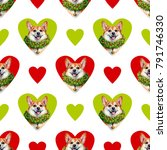 seamless pattern  texture  with ... | Shutterstock . vector #791746330