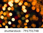 abstract blurred colorful bokeh ... | Shutterstock . vector #791751748