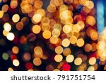 abstract blurred colorful bokeh ... | Shutterstock . vector #791751754