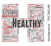vector conceptual healthy... | Shutterstock .eps vector #791760148