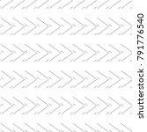 seamless geometric vector... | Shutterstock .eps vector #791776540
