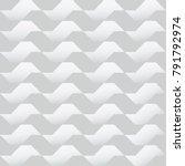 geometric abstract white... | Shutterstock .eps vector #791792974
