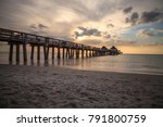 naples pier on the beach at... | Shutterstock . vector #791800759