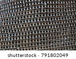 bicycle chain background | Shutterstock . vector #791802049