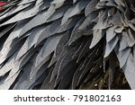 abstract  metal background | Shutterstock . vector #791802163