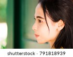 portrait of young beautiful... | Shutterstock . vector #791818939