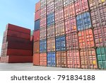 shipping containers are