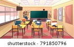 modern flat illustration.... | Shutterstock .eps vector #791850796