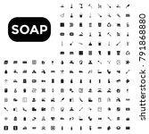 soap vector icon illustration... | Shutterstock .eps vector #791868880