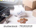 Money Box And Register For Cas...