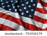 american flag background | Shutterstock . vector #791933179