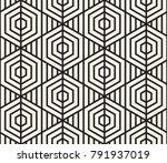 vector seamless pattern. modern ... | Shutterstock .eps vector #791937019