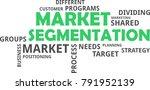 a word cloud of market...   Shutterstock .eps vector #791952139