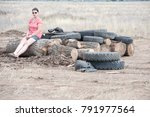 asf. african swine fever. in... | Shutterstock . vector #791977564
