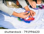 creating your own t shirt... | Shutterstock . vector #791996620